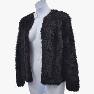 Calvin Klein Furry Open Cardi